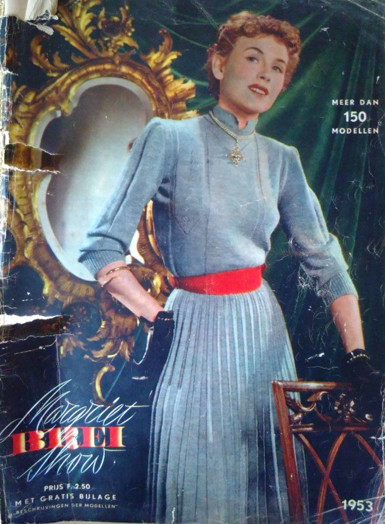 De kaft van Margriet Breishow 1953