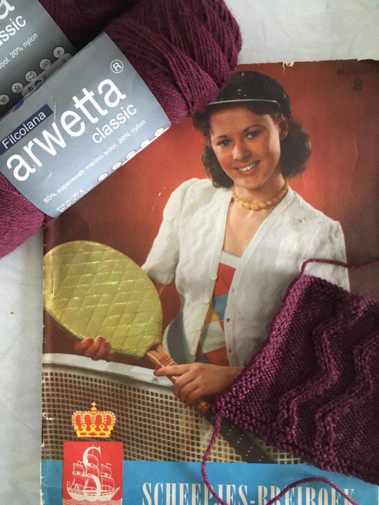 Scheepjes-Breiboek, Arwetta classic, proeflapje, kabels
