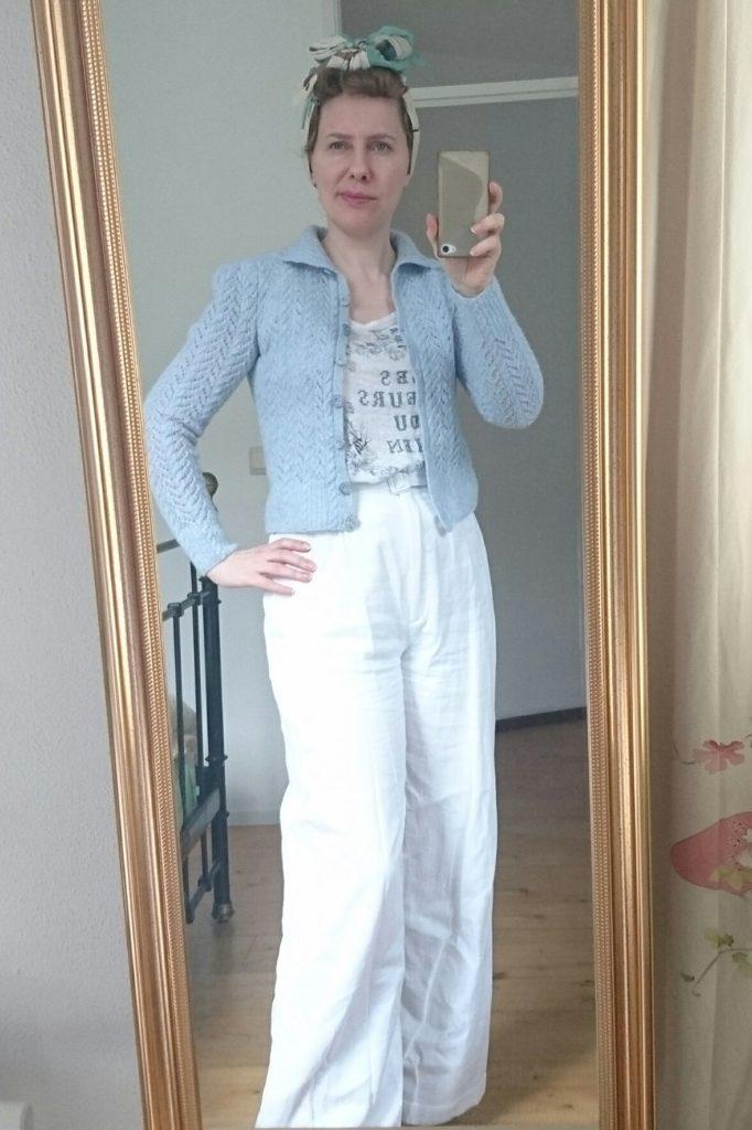 Zo draag ik vestjes meestal - still not sure about this!
