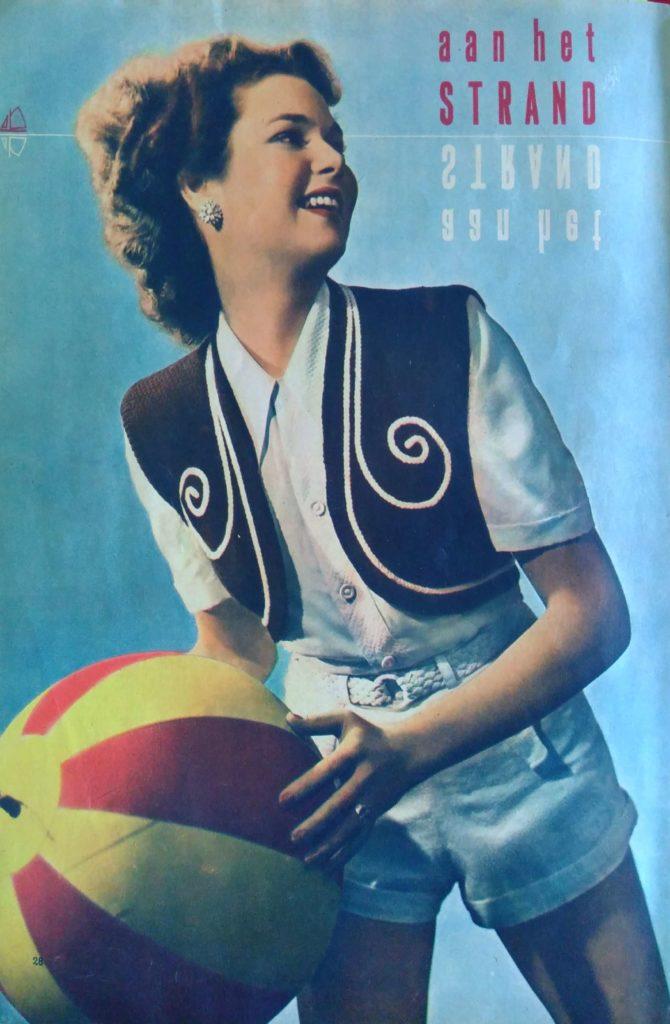 Lente in de kop_5, Margriet Breit, bolero, jaren vijftig