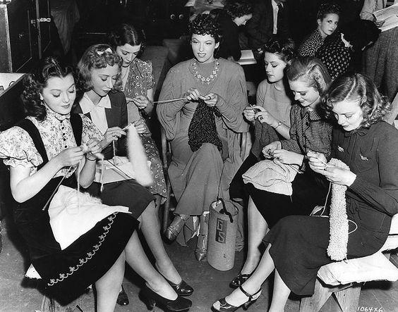 De Breistaat vintage knitting meetup 3 februari 2017