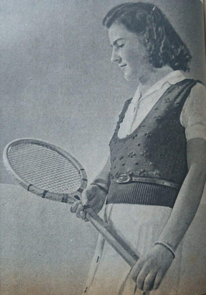 De Breistaat vintage breien tennisjumpers Libelle