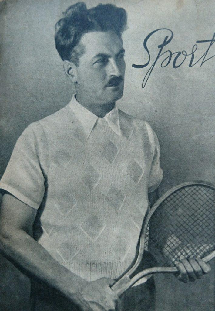 De Breistaat vintage breien tennisjumpers Margriet Revue