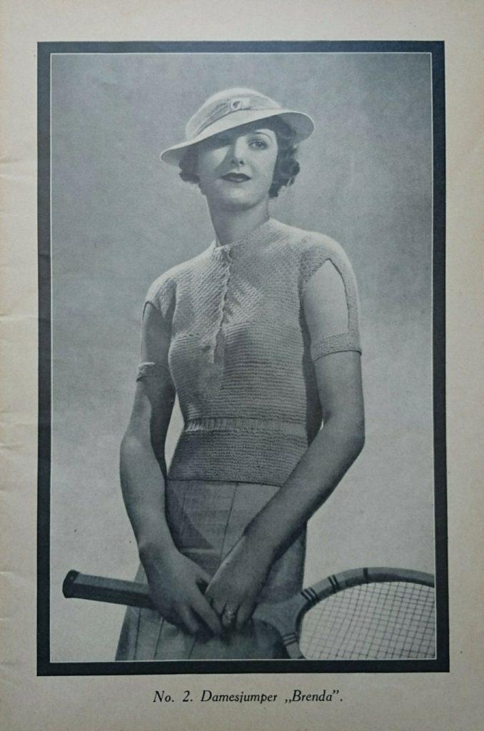 De Breistaat vintage breien tennisjumpers Steek voor steek