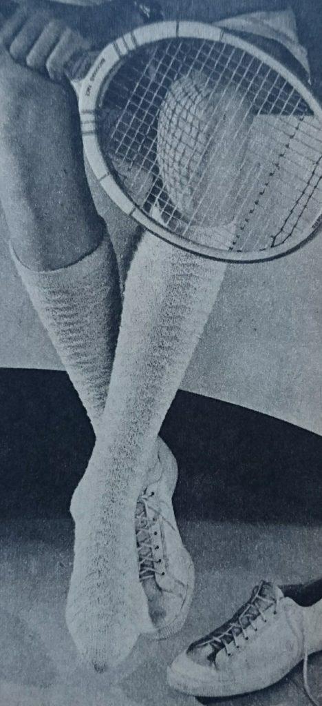 De Breistaat vintage breien tennisjumpers sportkousen Libelle Haken & Breien