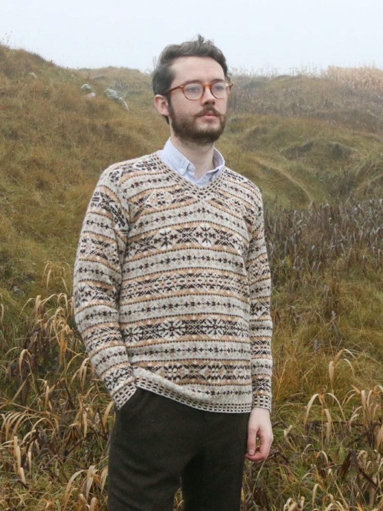 De Breistaat vintage breien Susan Crawford The Vintage Shetland Project Ralph