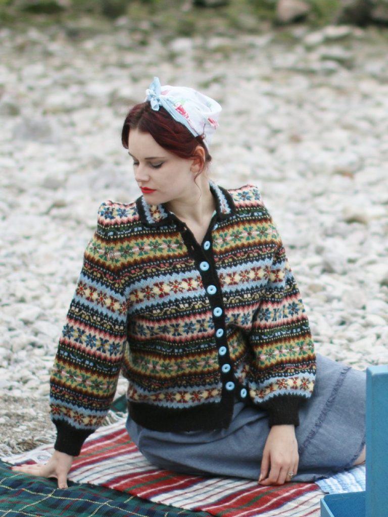 De Breistaat vintage breien Susan Crawford The Vintage Shetland Project Peerie Clews