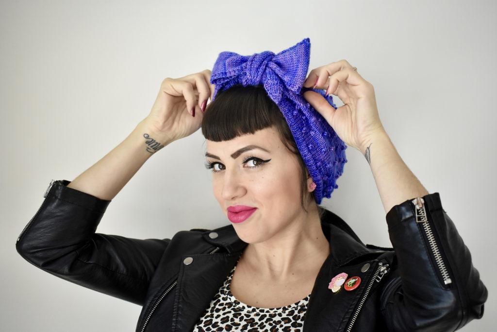 De Breistaat vintage breien Amy Appel Poison Grrls Frenchy Turban